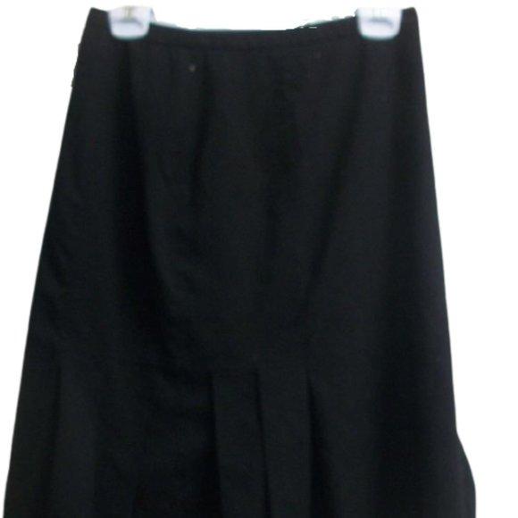 Jessica Black Pleated Skirt Size 10